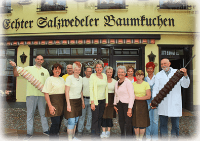 Baumkuchen Hennig Salzwedel Mitarbeiter